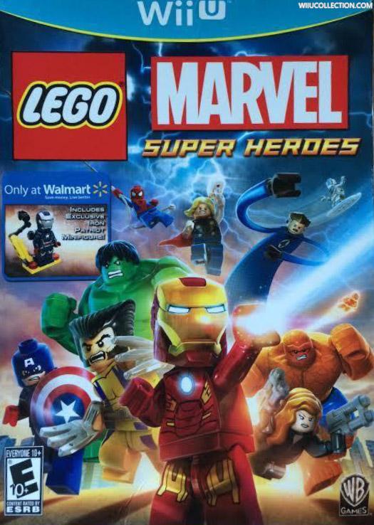 Lego Marvel Super Heroes - Wii U Game Details, Wiki, Versions