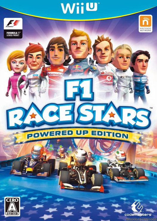 f1 race stars powered up edition wii u game details. Black Bedroom Furniture Sets. Home Design Ideas