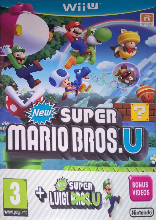 New Super Mario Bros  U + New Super Luigi U - Wii U Game