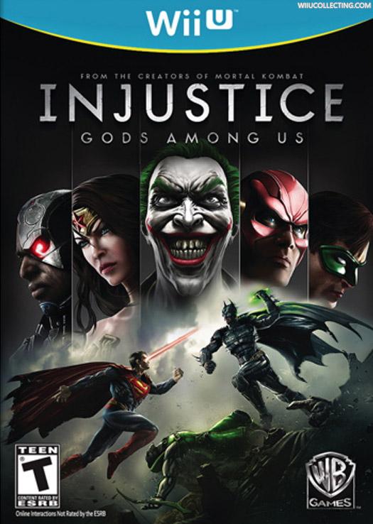 Injustice Gods Among Us Wii U Game Details Wiki Versions